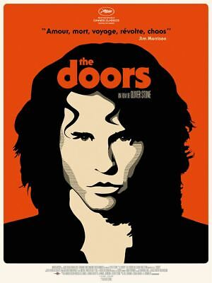 THE DOORS  - Affiche cinema 40X60 - 120x160 Movie Poster