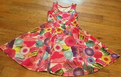 90 Degrees By Reflex Girls Little Girls Size Medium 10 Adorable Summer Dress