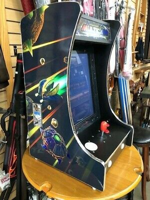Upright Bartop/Tabletop Cocktail Arcade Machine W/ 412 Classic Games