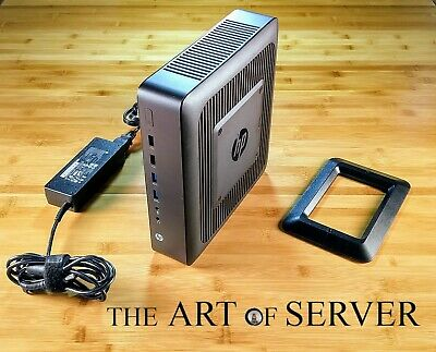 HP T620 Plus 4GB-RAM 16GB-SSD 5x1GbE PSU Rev A Stand pfSense firewall router