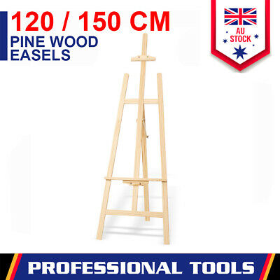 Easels Pine Wood Artist Display Painting Shop Wedding Decoration Tripod Stand