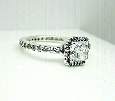 298c265ed Authentic Pandora #190947CZ-50 Timeless Elegance Ring with Clear CZ Size 5