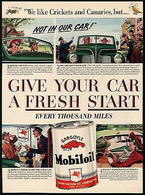 Vintage 1940 Magazine Ad Mobiloil Special Use For The Best Engine Protection Advertising-print