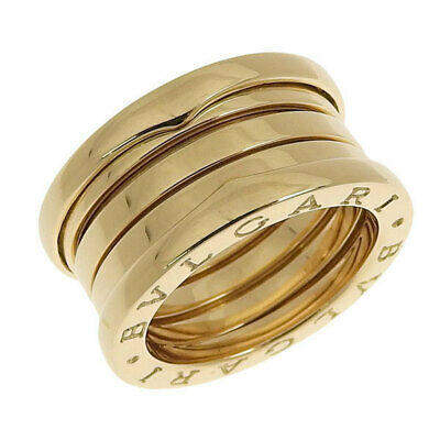 Ringe Bulgari Bvlgari B Zero 1  Band Ring In Pink Gold 750 Größe 47