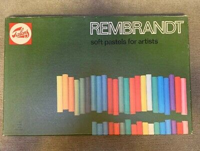 Royal Talens Rembrandt Soft Pastels For Artists , 90 Stick Set