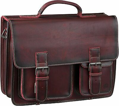 d99d2363d1a17 Greenburry Buffalo 1128 Mappe XXL Aktentasche Leder Herrentasche  Businesstasche