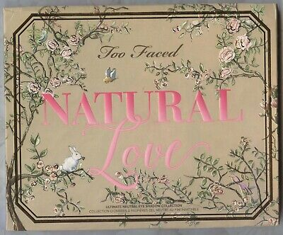 Too Faced NATURAL LOVE Eye Shadow Ultimate 30 Color Palette  PLEASE READ BELOW