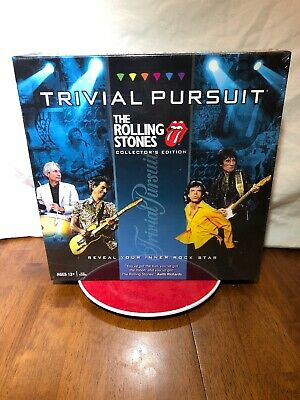 ROLLING STONES TRIVIAL PURSUIT ROCK /& ROLL MICK JAGGER BOARD GAME