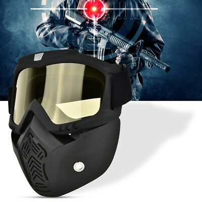 Full Face Protective Mask Paintball Tactics Mask Anti-fog Safety Full Face Mask