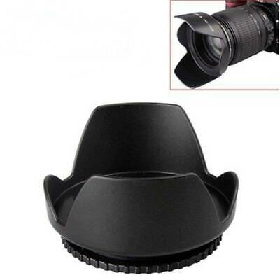 49mm Flower Crown Shape Petal Lens Hood for Canon Nikon Sony Pentax DSLR Camera