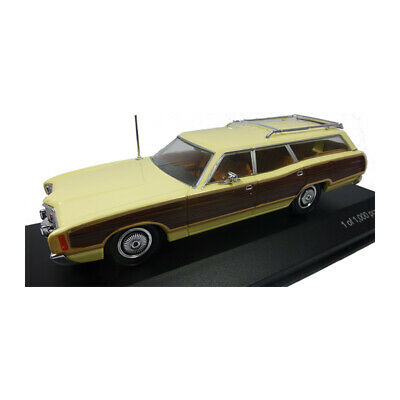 Whitebox WB291 Ford Ltd Country Squire Jaune Vif / Bois Optique 1:43 (227774)