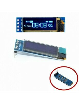 OLED LCD 0.91 Inch Display blue 128x32  Module SSD1306 Driver For Arduino 5038Z
