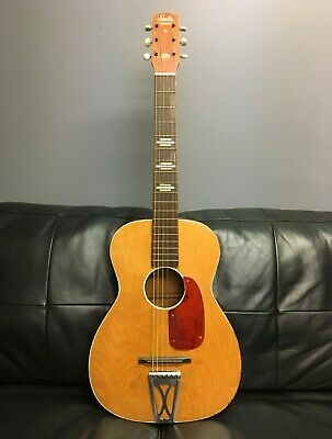 1969 Vintage Stella Harmony Guitar - Steel Reinforced Neck - Made in USA