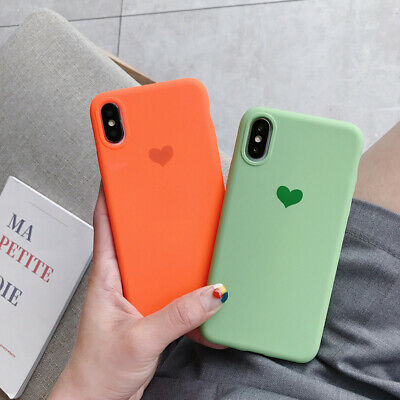 Slim Heart Pattern Soft Rubber Case Cover For Xiaomi Redmi Note 7 6 Pro Mi 9 8