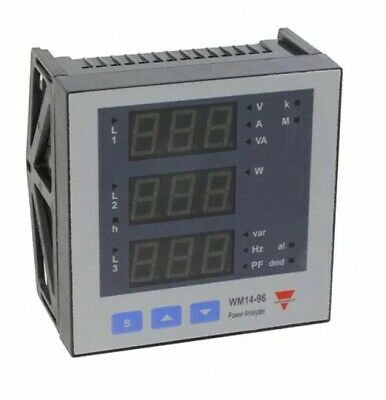 Carlo Gavazzi Energy Management Power Analyzer WM14-96.AV5.3.D.S