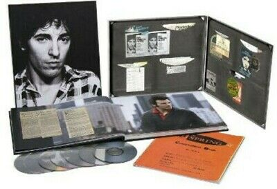 Bruce Springsteen The Ties That Bind The River Collection Box Set CD/DVD