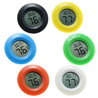 Mini Digital LCD Thermometer Hygrometer Humidity Temperature Meter Indoor Tester
