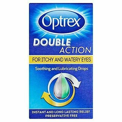 Optrex Double Action Drops Itchy And Watery Eyes 10ml