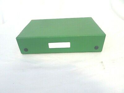 Box for storing 35mm slides containing used slides  RW