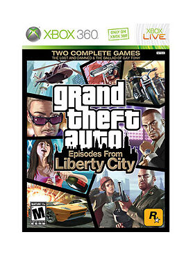 Grand Theft Auto: Episodes From Liberty City (Xbox 360 2009) FACTORY SEALED! EX!