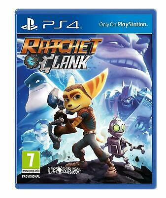 Ratchet and Clank PS4 NEW SEALED DISPATCHING TODAY ALL BY 2 PM
