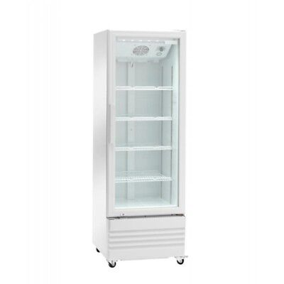 Fridge for Drinks with Door Glass a Series Ake Wheeled - 216 Litre