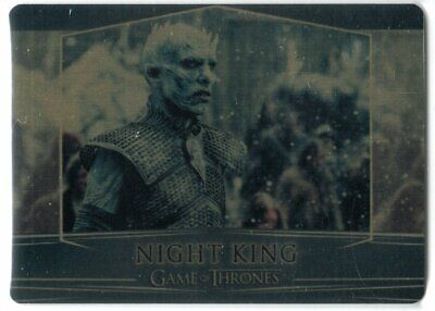 Game Of Thrones Valyrian Steel Se Gold Parallel Base #80 Night King 039/100