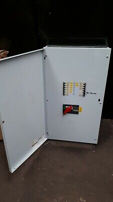 SQUARE D KQ 4-Way Distribution Board LoadCentre 160Amp main & breakers