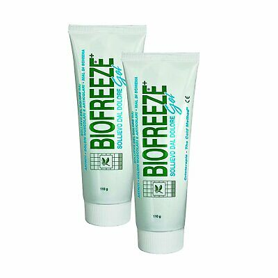 2 x Biofreeze Pain Relieving Gel with Ilex - 118ml / 4oz Tube. FREE DELIVERY