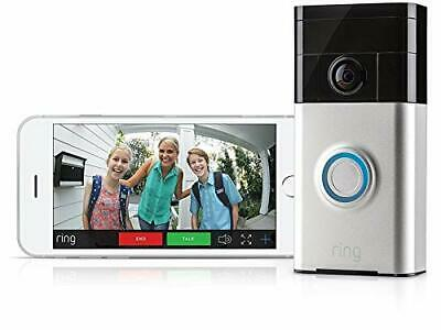 Ring Video Doorbell Motion Activated 720HD Video Two Way Talk Camera