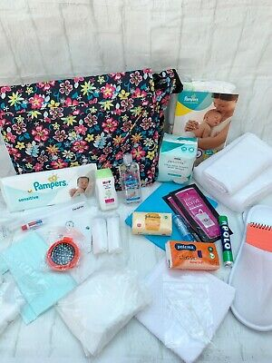 PRE PACKED MUM TO BE HOSPITAL LABOUR BAG - 25 ITEMS - All Colours