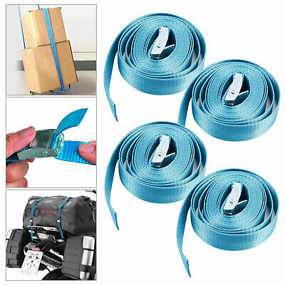 4 Pack Lashing Straps Cargo Straps with Quick Release Cam Buckle for Trucks Car