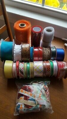 Large Lot Of Assorted Ribbon