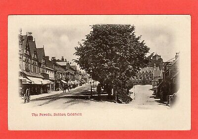 The Parade Sutton Coldfield Birmingham pc unused Ref R713