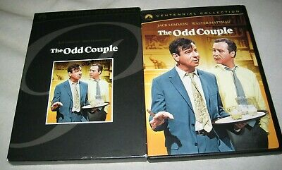 The Odd Couple DVD 2-Disc Set R1 Centennial Edition Jack Lemmon OOP USA R1 1968