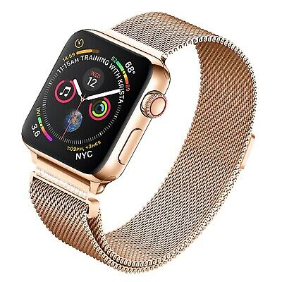 For iWatch Band 38/40mm 42/44mm Milanese Loop Strap Stainless Steel Bracelet