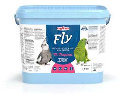 Fly Th Tropical 4 Kg Pastoncino Pappagalli