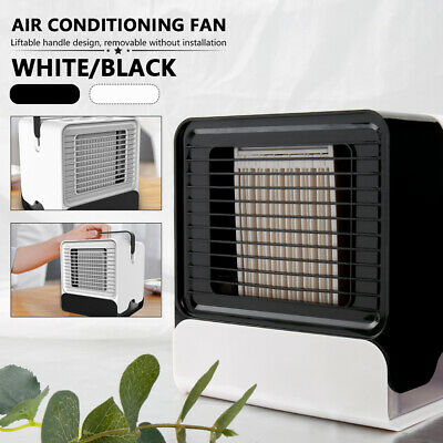 Mini Air Conditioning Conditioner Unit Fan Portable Low Noise Home Cooler + USB