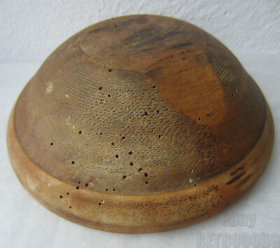 Antique primitive  wooden dough bowl,  turned ~ from RETROOOBG, 1 pc