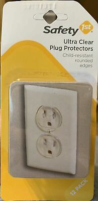 Safety 1st 12 Pack Ultra Clear Outlet Plugs
