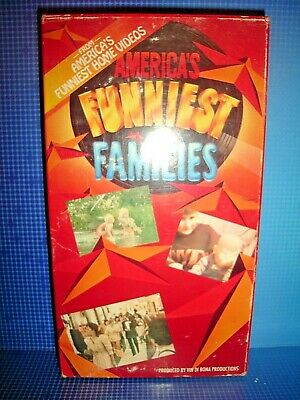 Rare Americas Funniest Home Videos Funniest Families Vhs 1992 Comedy Bob Saget