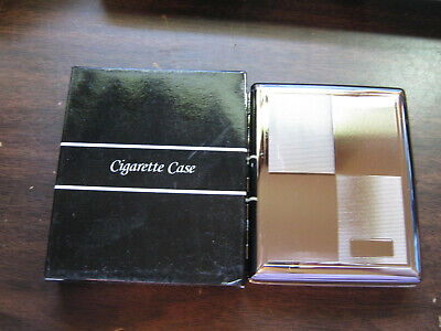 Cigarette Metal Case Double Sided King & 100s Engravible