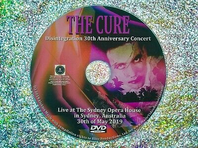 THE CURE Disintegration 30th Anniversary Concert 30th May 2019 in Australia DVD