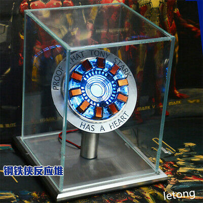 Iron Man Arc Ark Reactor Telecontrolled Reactor Scale Heart Pioneer LED Lights