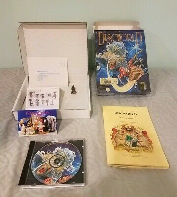 DISCWORLD TERRY PRATCHETT'S Playstation One PS1 Long Box - $19 50