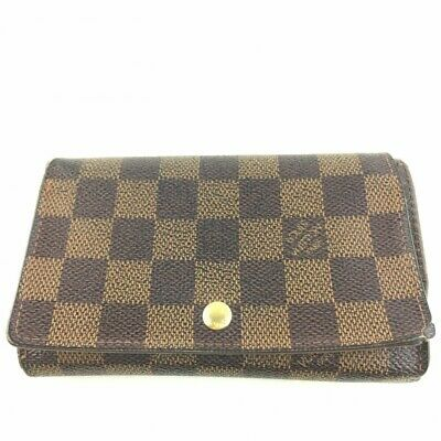 new concept d4cdb 423f5 AUTH LOUIS VUITTON International Long Trifold Wallet Damier ...