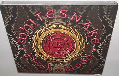 Whitesnake Flesh & Blood (2019 Deluxe Edition) Brand New Sealed Cd Dvd Set
