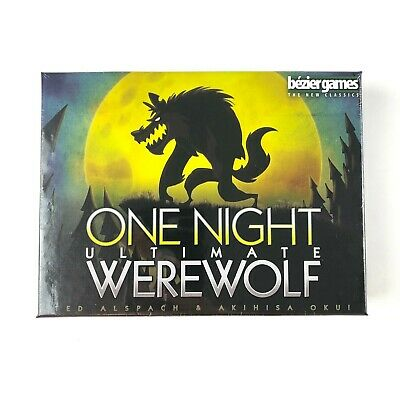 One Night Ultimate Werewolf BRAND NEW SEALED game - FREE SHIPPING