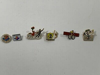 Rare Antenne 2 Pins Lot 6 (Used)