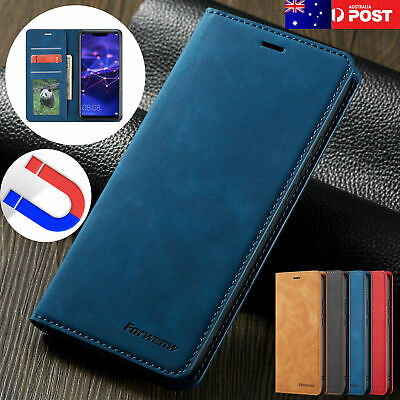 For Samsung S20 Ultra S10 5G S8 S9 Plus Note 9 Case Leather Stand Wallet Cover